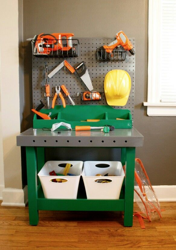 Toddler workbench #youre doing it right