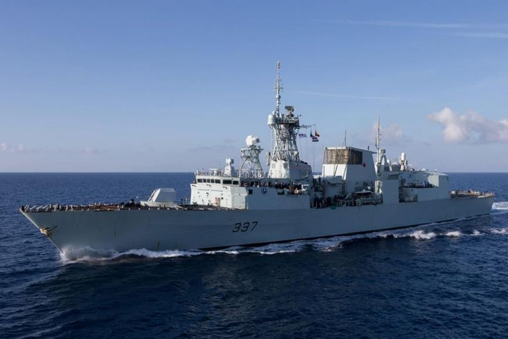 Royal Canadian Navy Halifax-class frigate HMCS Fredericton, assigned to Standing NATO Maritime Group Two (SNMG2) entered the Black Sea on March 30 to train with Turkish, Bulgarian and Romanian Navy vessels. During the month of April, HMCS Fredericton will conduct operations in concert with Romanian frigate ROS Regina Maria and other allied ships from Bulgaria and Turkey