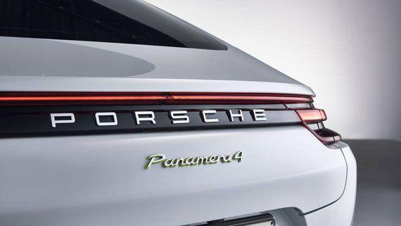 Элементы дизайна Порше Панамера S E-Hybrid 2018 / Porsche Panamera Turbo S E-Hybrid 2018