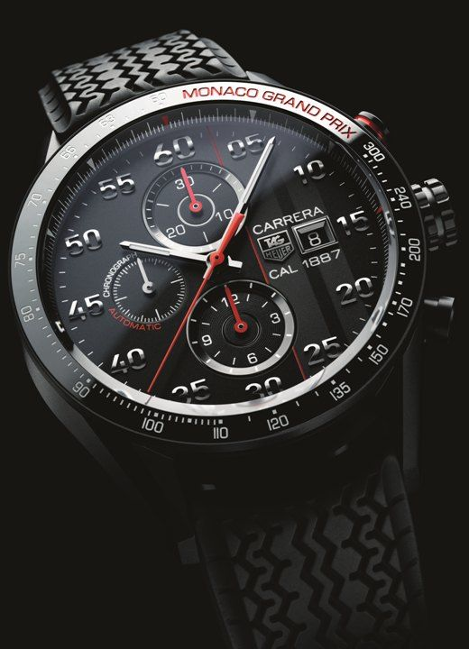 TAG HEUER carrera calibre 1887 chronograph 43mm Monaco Grand Prix Limited Edition