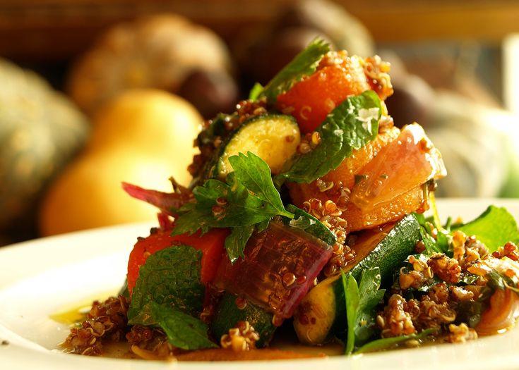 moroccan roast vegetables with quinoa | #vegetarian #roast #quinoa #recipe #foodwise