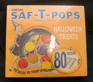 Saf-T-Pops....Steak n' Shake used to give these out to kids. Always got a purple one when we left the restaurant :)