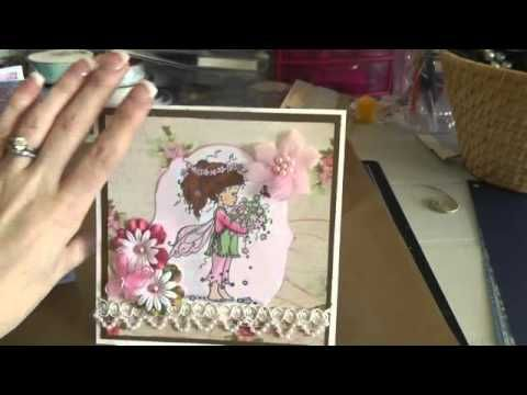How to trim Whimsy Stamps rubber stamps - YouTube