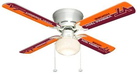 Special Offers - Ceiling Fan Designers 7999-VAT New NCAA VIRGINIA TECH HOKIES 42 in. Ceiling Fan - In stock & Free Shipping. You can save more money! Check It (May 22 2016 at 11:23AM) >> http://ceilingfansusa.net/ceiling-fan-designers-7999-vat-new-ncaa-virginia-tech-hokies-42-in-ceiling-fan/