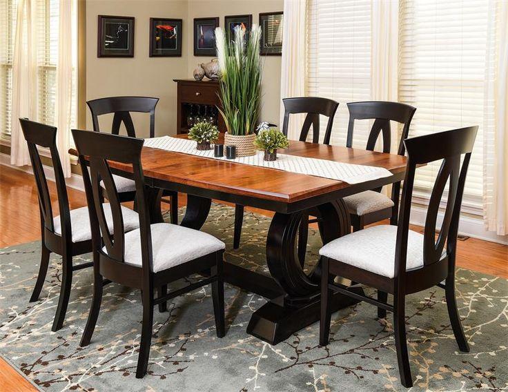 Amish Saratoga Trestle Table