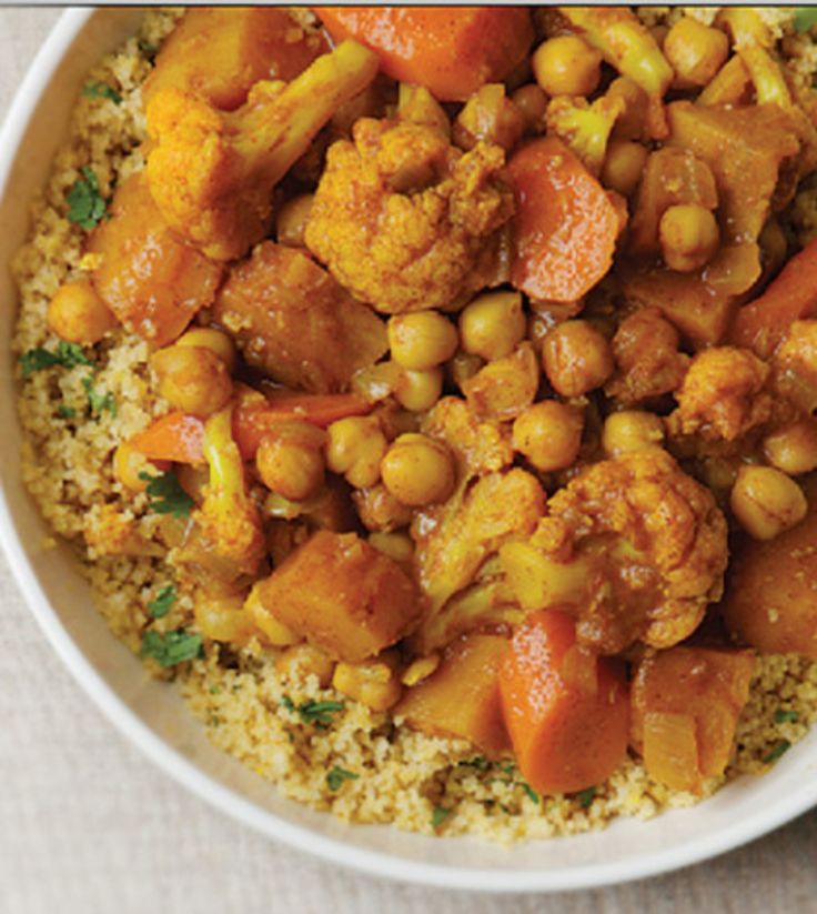Chickpea Tagine with Couscous - Clean Eating Magazine