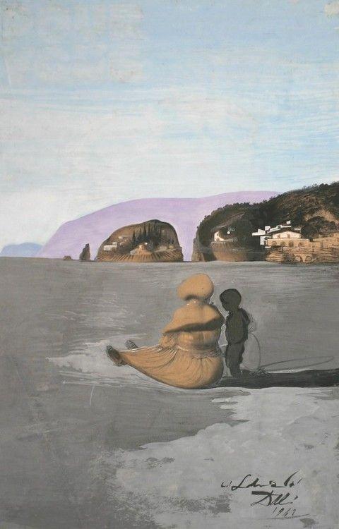 Salvador Dali, Adolescence, 1941