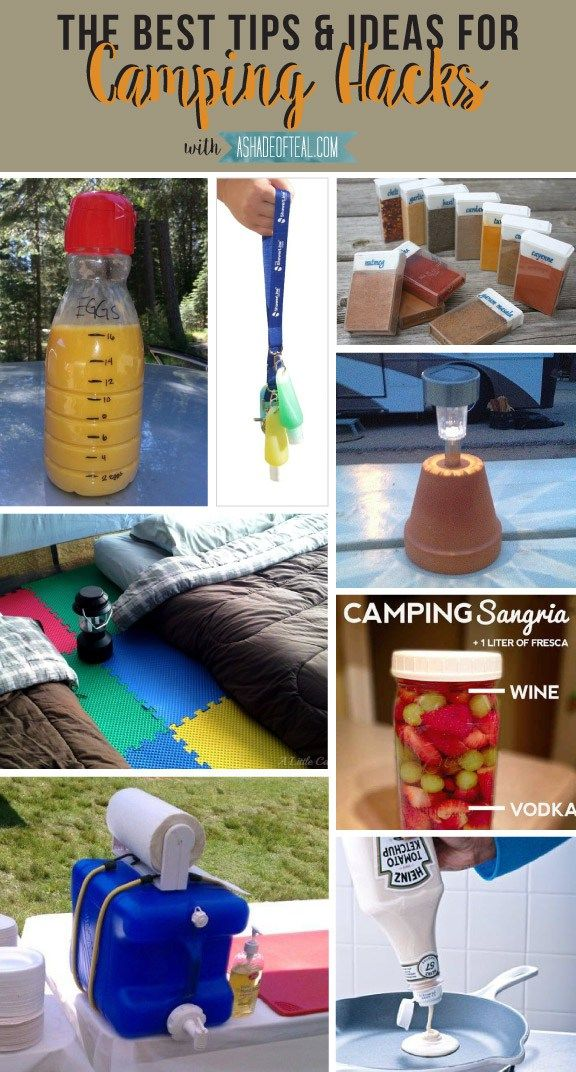 Simple & Scrumptious Tenting Meals Concepts