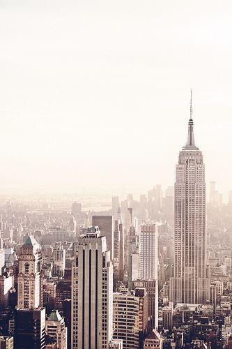 http://newyorkcitycam.blogspot.com Empire State Building and New York City Skyline - Afternoon http://BluSkyTravel.com