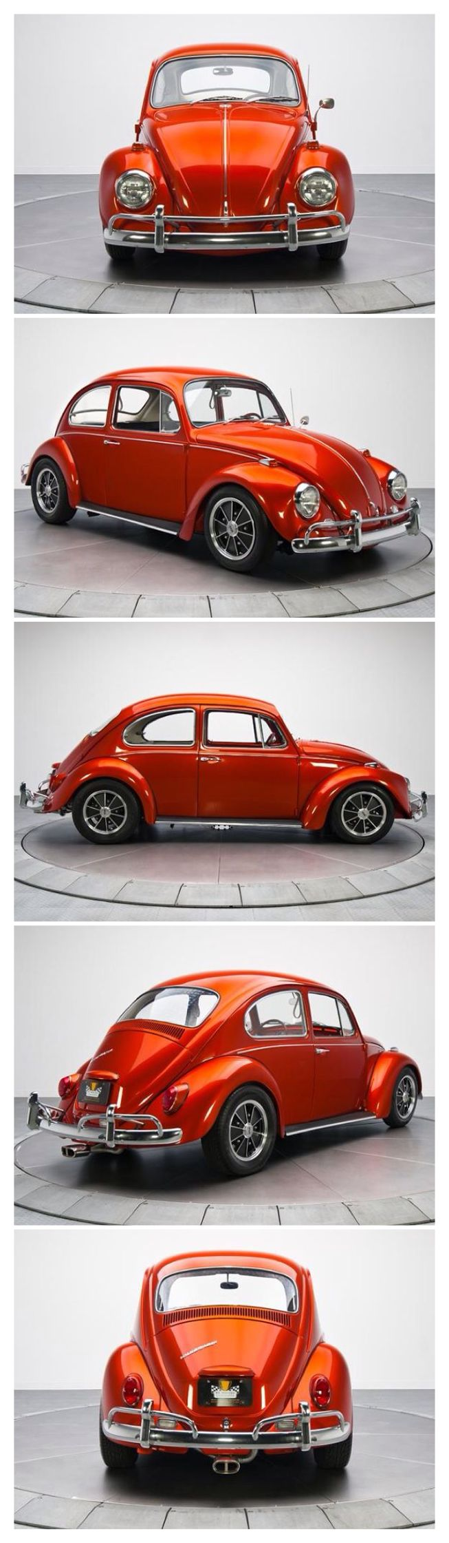 1967 VW Beetle. My first car was a '67 VW. I PAID $100 for it, & $200 to rebuild the engine with my father. It didn't look like this...