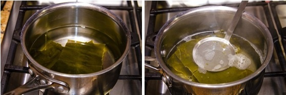 How To Make Kombu Dashi (Vegetarian Dashi) 昆布だし 作り方