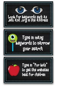 COMPUTER TIPS AND CYBER SAFETY FOR STUDENTS - TeachersPayTeachers.com