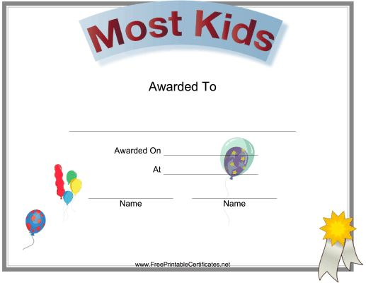 16 best certfcate images on pinterest printable certificates this printable certificate for a high school or college class reunion features balloons to indicate the yelopaper Gallery