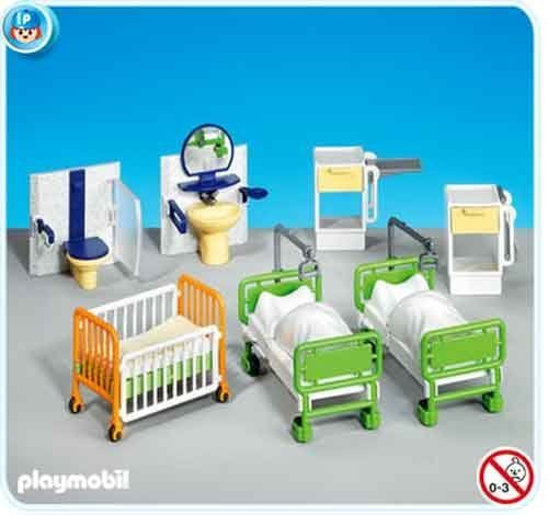 83 best images about playmobil on pinterest for Hospital de playmobil