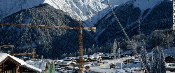 Cum tunurile de zapada creeaza zapada pentru olimpiada de iarnaNotio.ro