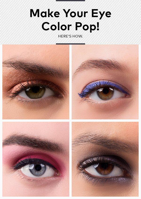 Brown Smokey Eye A Beautiful Face With Beautiful Makeup ...