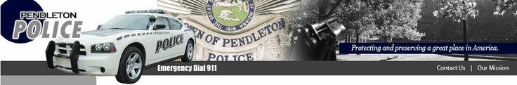 Pendleton Police Department - #PendletonIndiana #TimandJulieSchnepp #SchneppHomeSellingTeam