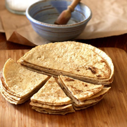how to make healthier tortilla chips - did this last night and it worked like a charm!