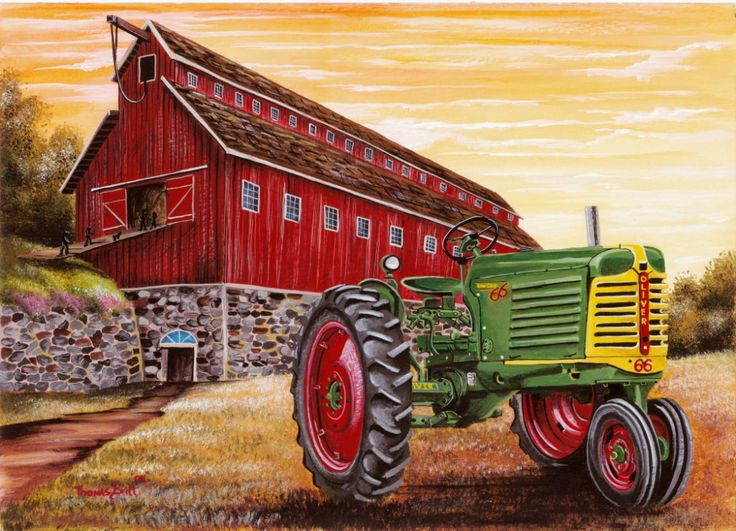 Pin By Brenda On Barns Tractors Old Tractors Tractor