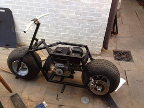 """large"" tire minibike"