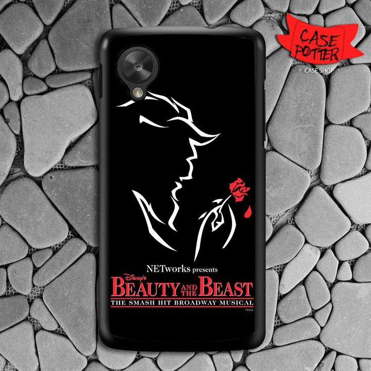 Beauty And The Beast Nexus 5 Black Case