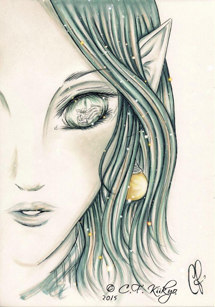 #Meeme #Flower #Harlock #Fanart SPACE PIRATE CAPTAIN HARLOCK - Meeme FanArt by C.F. Kiikyo
