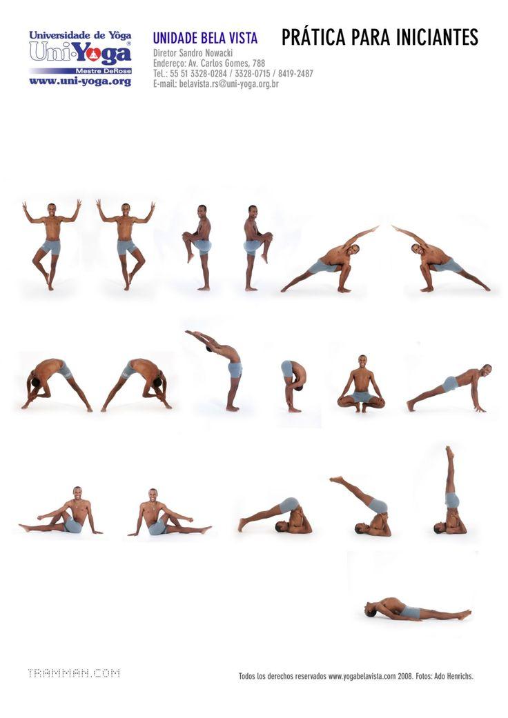 Dharma Mittra, brasileiro radicado nos EUA e um dos professores de yoga mais importantes da atualidade, propõe uma prática bastante simples e ao mesmo tempo completa: Most important, there are eigh…