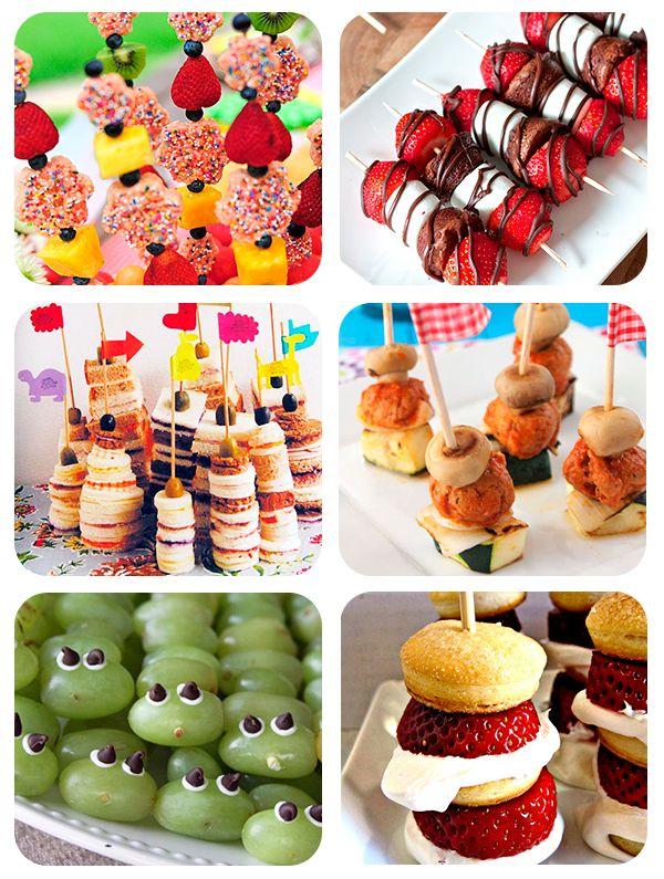 Las 25 mejores ideas sobre ni os con brochetas de fruta for Cumpleanos cocina para ninos