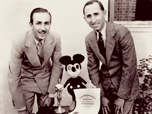 Walt Disney, Roy Disney, Mickey Mouse