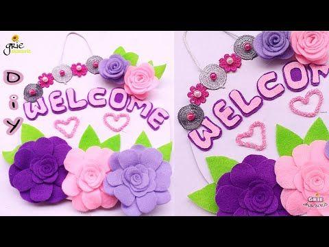 Kerajinan Tangan Hiasan Dinding Kelas Diy Hiasan Dinding Bunga