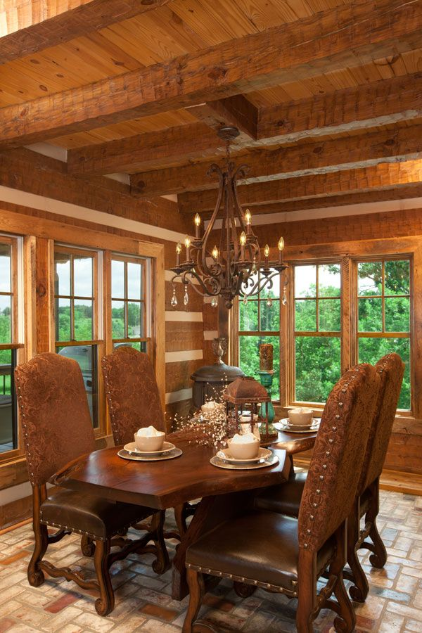 Log Home Dining Room. See More. Google Image Result For  Http://www.loghome.com/wp  Part 82