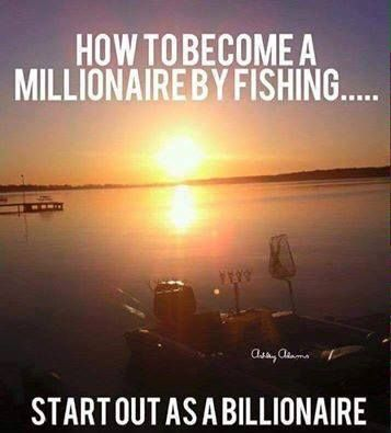 Millionaire fisherman