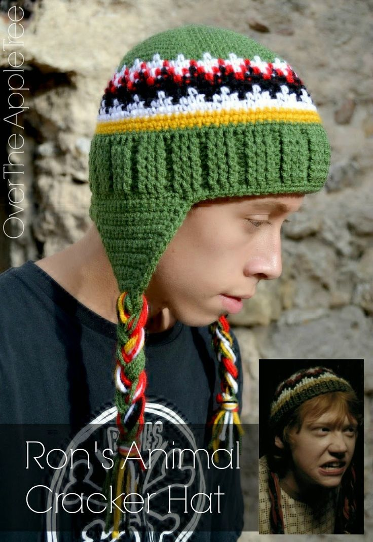 Animal Cracker Hat pattern by Kristen Mohr - Free Pattern - Harry Potter Inspired Crochet » Over The Apple Tree