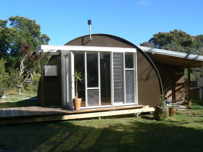 The nissan hut at walkerville a walkerville house stayz for Beach house builders gippsland