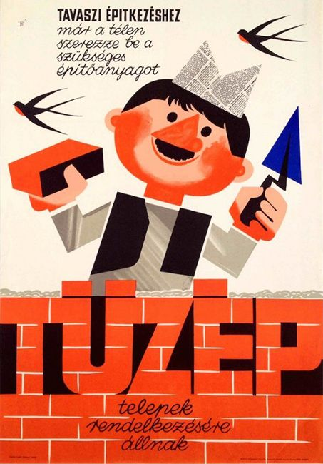 Building yards at your service Hungarian title: TÜZÉP 2. Lengyel Sándor Year: 1966