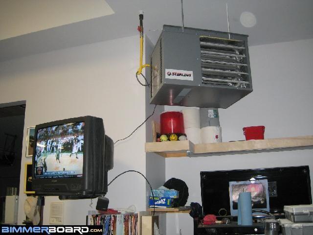 Garage Heater Natural Gas Heater Workshop Pinterest