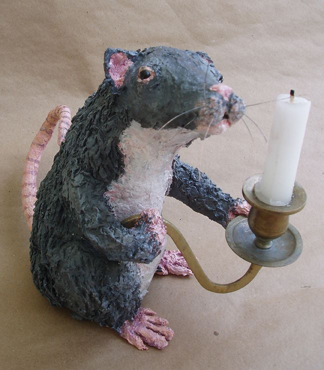 418 best images about ratones on pinterest papier mache for Things to make with paper mache