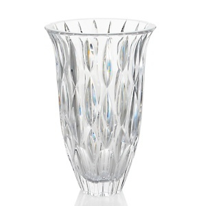 """#HSN and #HouseBeautiful.Colin Cowie Marquis by Waterford Rainfall 9"""" Vase at HSN.com."""