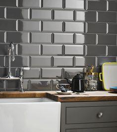 Image for Core Metro Plain Gloss Ceramic Wall Tiles 50 Per Pack 100mm x 200mm - K000472