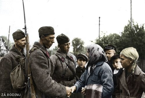 Soviet soldiers - Eastern Front ww2