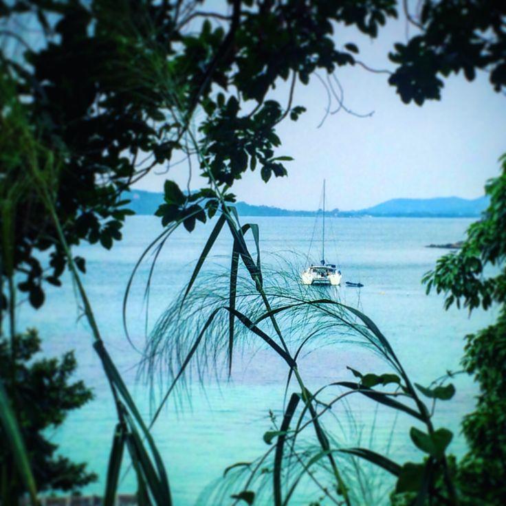 Endroit paradisiaque sur l'île de Koh Samet en Thailande #ocean #bateau #bleu