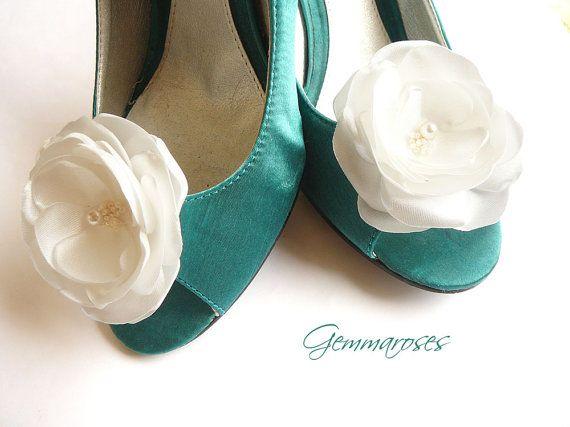 Shoe Clips with Swarovski bead
