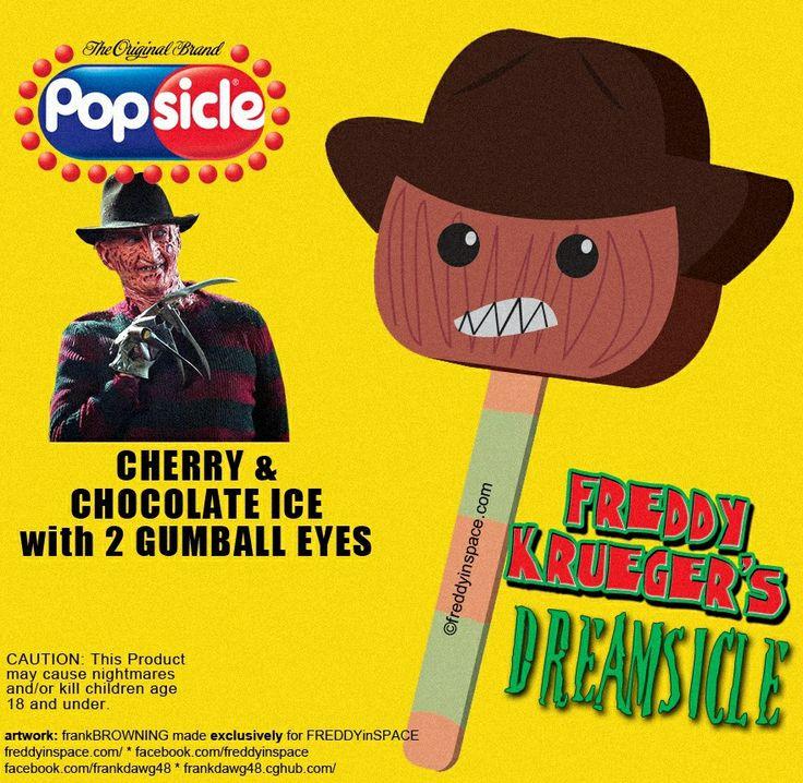Ooo A Freddy Krueger Popsicle James Halloween