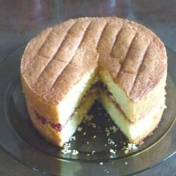 Wheat and gluten free Victoria sponge cake - a recipe as traditional as the original, just without wheat!