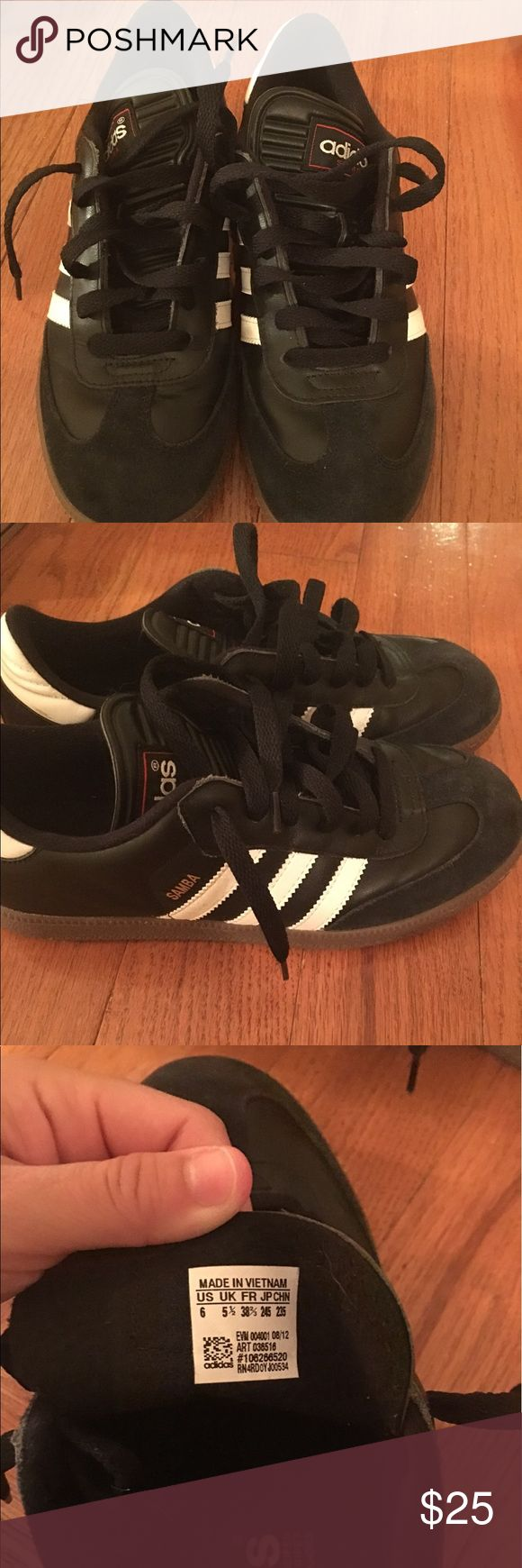 Men's 6 adidas shoes Adidas samba classic shoes. Worn a few times adidas Shoes Athletic Shoes