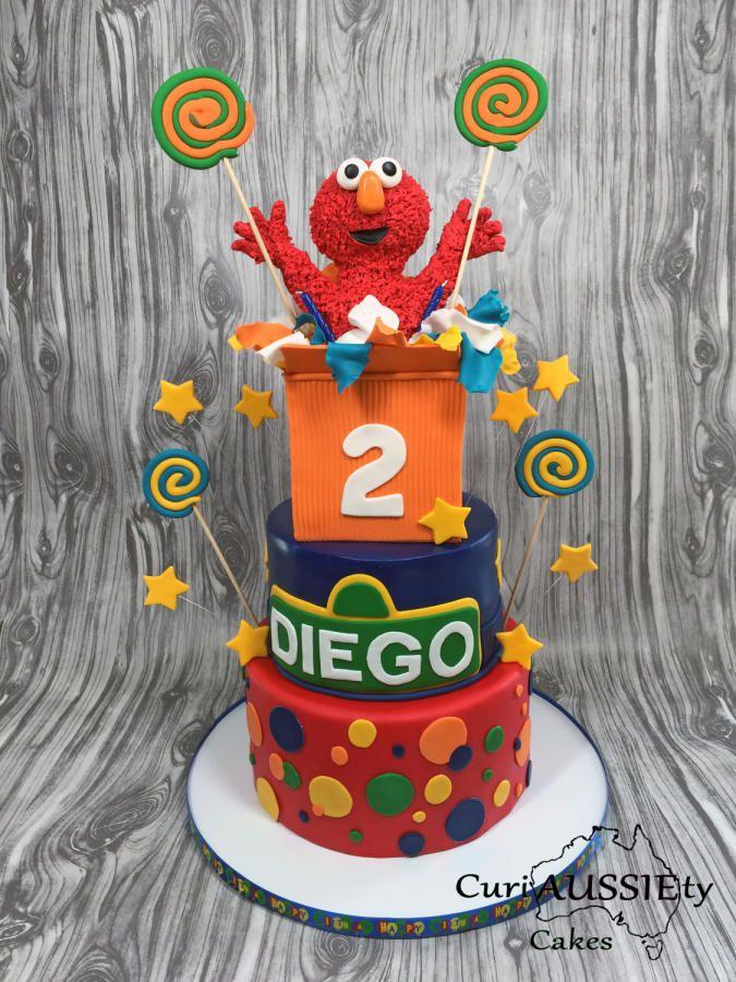 376 best Sesame Street Cakes images on Pinterest Sesame street