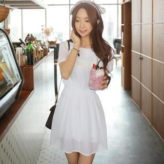 Buy 'Envy Look – Smocked-Waist Lace-Trim Tunic' with Free Shipping at YesStyle.com.au. Browse and shop for thousands of Asian fashion items from South Korea and more!