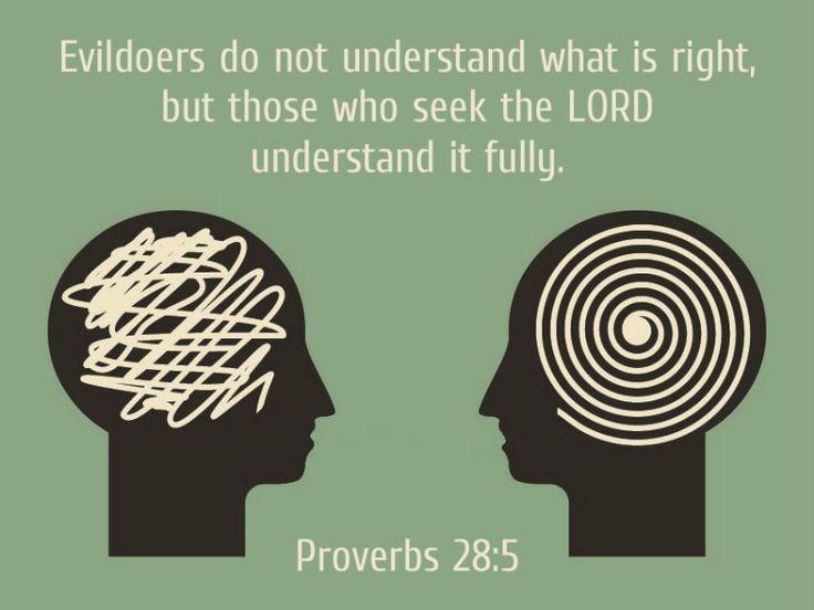 Proverbs 28:5 | by joshtinpowers
