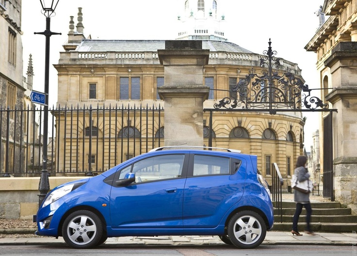 The Chevrolet Spark is one of the cheap economy cars we recommend for a low-cost car hire in Bulgaria.