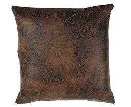 60x60 cm Brun pyntepute